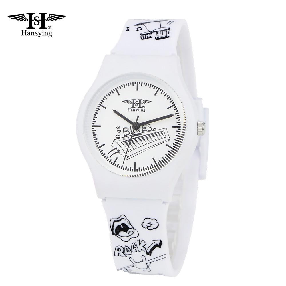 Hansying ילדים שעונים המותג אופנה מקרית Waterproof שעונים סטודנטים בנות שעוני קוורץ