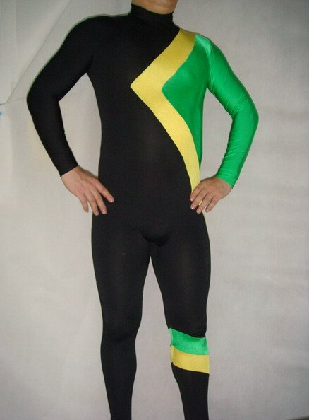 Watermonkey Cool Runnings Catsuit Unisex Lycra Spandex Zentai Bodysuit Halloween Fancy dress