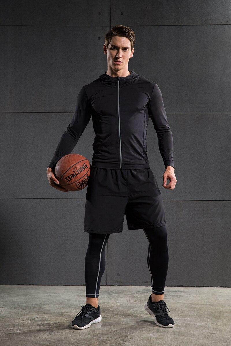 Heren Running Run Jacket Sweaters Compressie Panty Fitness Oefening - Sportkleding en accessoires - Foto 5