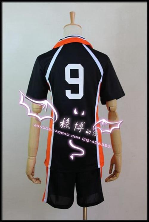 Ny ankomst Haikyuu !! Karasuno Gymnasium Volleyballklubb Tobio - Kostymer - Bilde 2