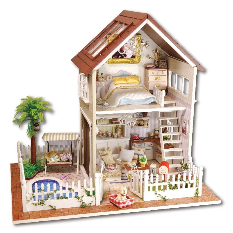 Online Get Cheap Wooden Dollhouse Furniture Aliexpresscom