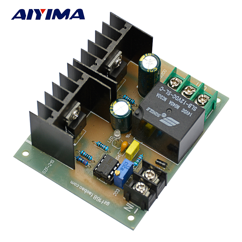 Aiyima 1Pc Transformer 50hz Frequency Inverter Driver Circuit Board DC12V to 220V Inverter Module inverter drive board power frequency transformer driver board dc12v to ac220v home inverter drive board
