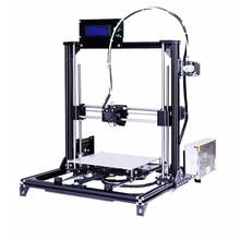 2016 New Aluminium Structure Prusa i3 3D Printer,Large Printing Size DIY 3d Printer Kit With 2 Rolls Filament 2G SD Card