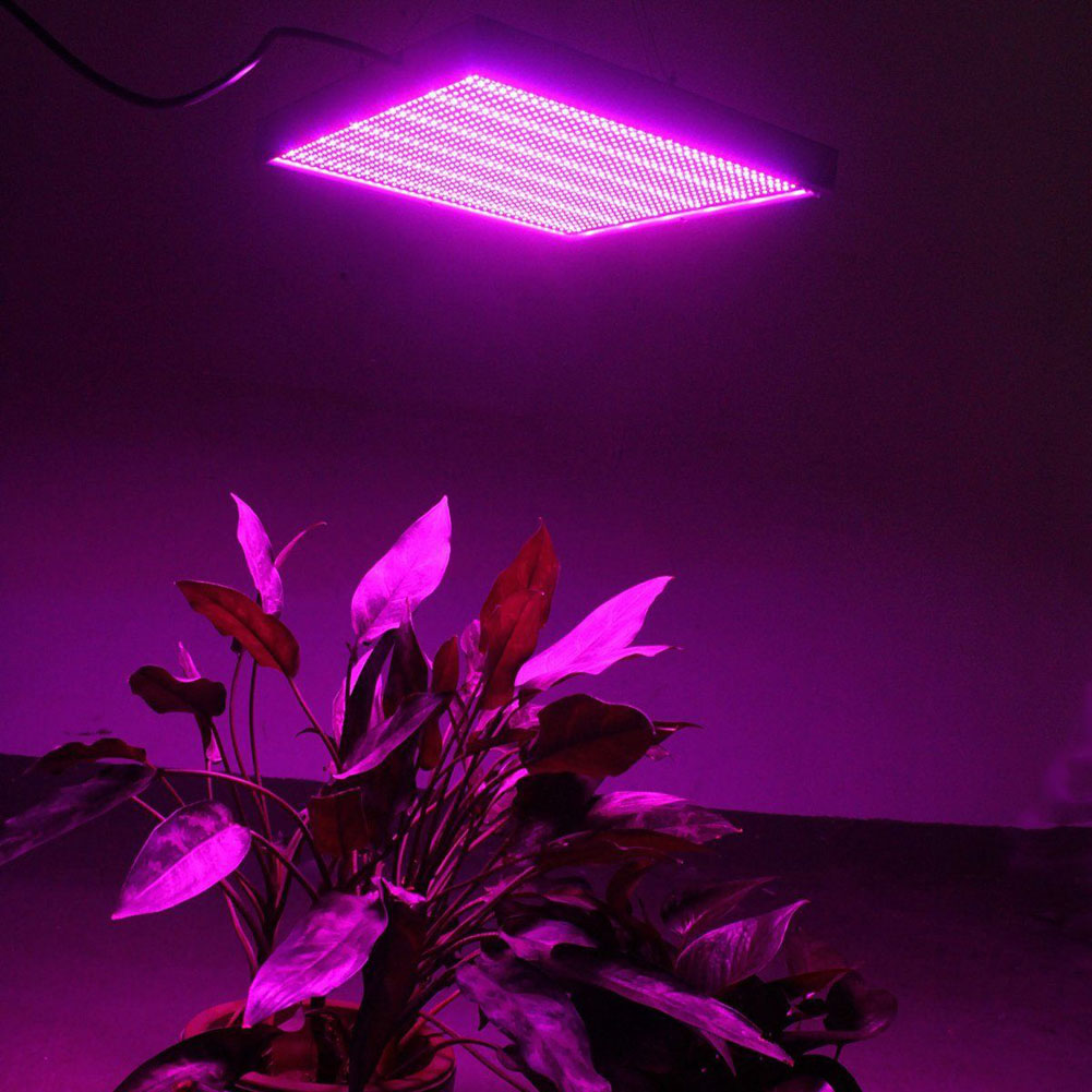 120W UV LED Plant Growing Lamp Bulb Greenhouse Indoor Plants Grow Lights for Hydroponics Flowers Vegetables US/UK/AU/EU Plug