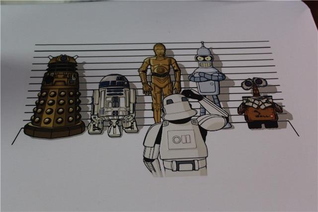 Star Wars Droid T-Shirt Creative Design