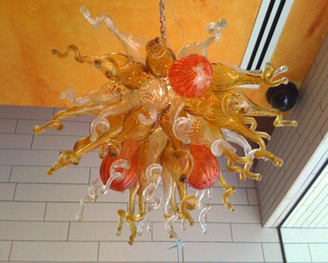 Kronleuchter Mit Langer Kette ~ Antiken stil 100% mundgeblasenem glas moderne kristall kronleuchter