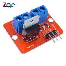 Верхняя кнопка Mosfet IRF520 модуль драйвера Mosfet для Arduino MCU ARM для Raspberry Pi 3,3 V-5 V IRF520 power MOS PWM затемняющий светодиодный