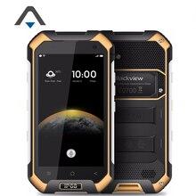 Оригинал Blackview BV6000 4 г LTE IP68 Водонепроницаемый сотовый телефон MT6755 Octa Core 4.7 дюймов Android 6.0 3 ГБ Оперативная память 32 ГБ Встроенная память 13MP NFC OTG