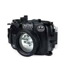 Seafrogs Plastic Camera Case Waterproof Housing for Fujifilm X100F Underwater Shoot Protective Equipment Photographic Accessory