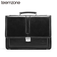 Free Shipping Men S Genuine Leather Vintage Formal Business Lawyer Briefcase Messenger Shoulder Attache Portfolio Tote