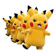 cosplay costumes Pikachu Pokemon Mascot Costume Fancy Dress Outfit Free Shipping