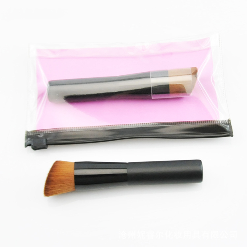 Easily Makeup ! 1Pcs Soft BB Cream Contour Concealer Foundation Powder Blush Makeup Brushes Face Cosmetic Make Up Brush Tool New new design stamp seal shape face makeup brush foundation powder blush contour brush cosmetic facial brush cosmetic makeup tool