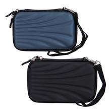 PTSP водонепроницаемый портативный внешний 2,5 дюймов hdd сумка чехол внешний жесткий диск сумка EVA PU Чехол карман