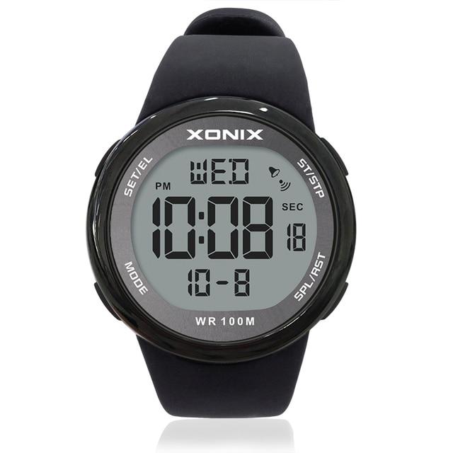 2019 Sport Watche Luxury Men  Relogio Masculino LED Digital Diving Swimming Reloj Hombre Hardlex Mirror Sumergible Wristwatch NY 1