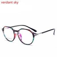 2017 TR90 Women Vintage Retro Eyeglasses Computer Glasses Clear Goggles Optical Frames Oculos Prescription Glasses Frame