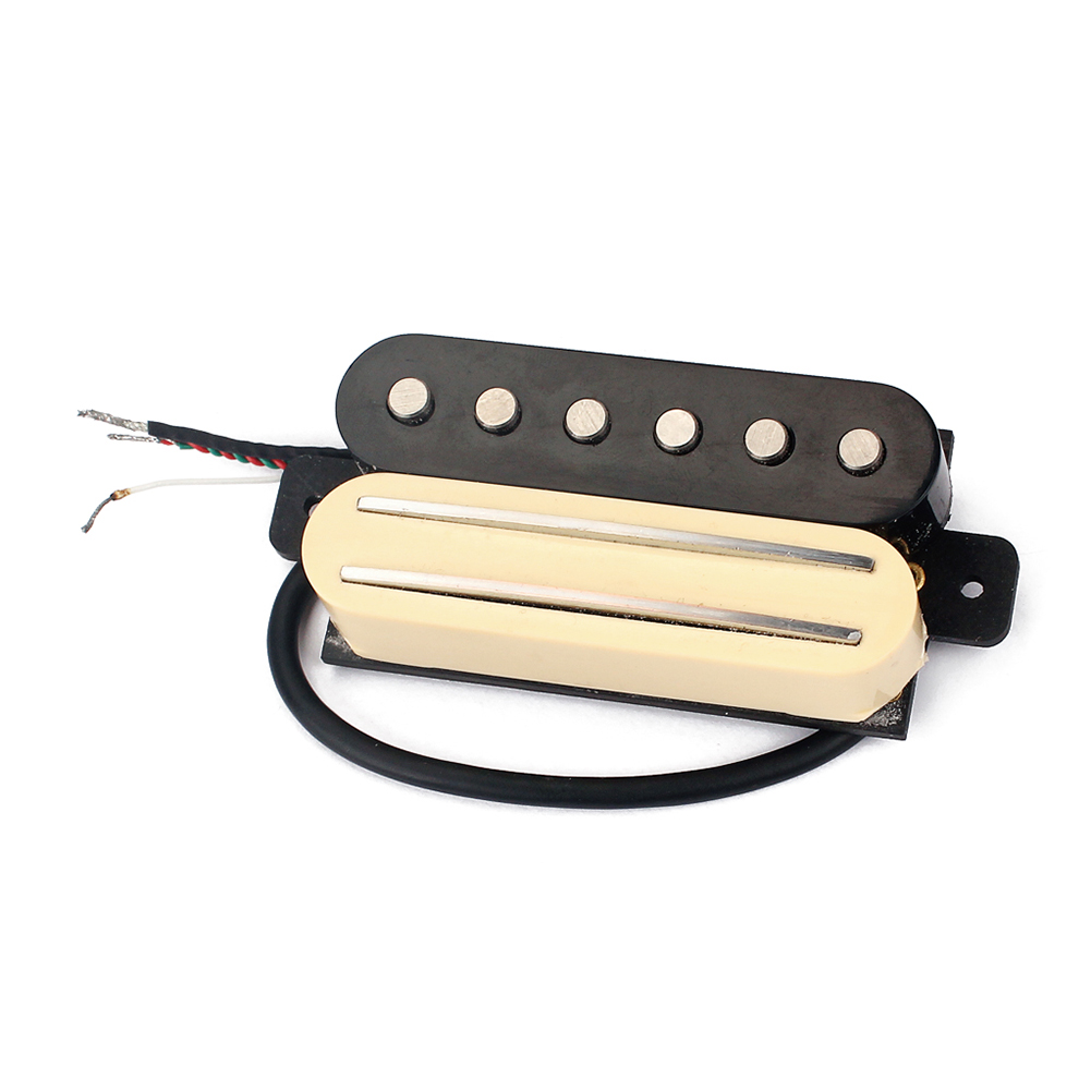 High Quality Electric Guitar Pickup Dual Rail Standard Bridge Humbucker Single Coil Pickup for LP Style/Other Electric Guitar free shipping new electric guitar double coil pickup chb 5 can cut single art 46