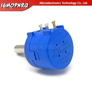 Image 3 - 3590S 2 103L 3590S 10K ohm Precision Multiturn Potentiometer 10 Ring Adjustable Resistor