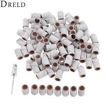 Dreld 100 шт 63 мм барабанная шлифовальная лента для ногтей