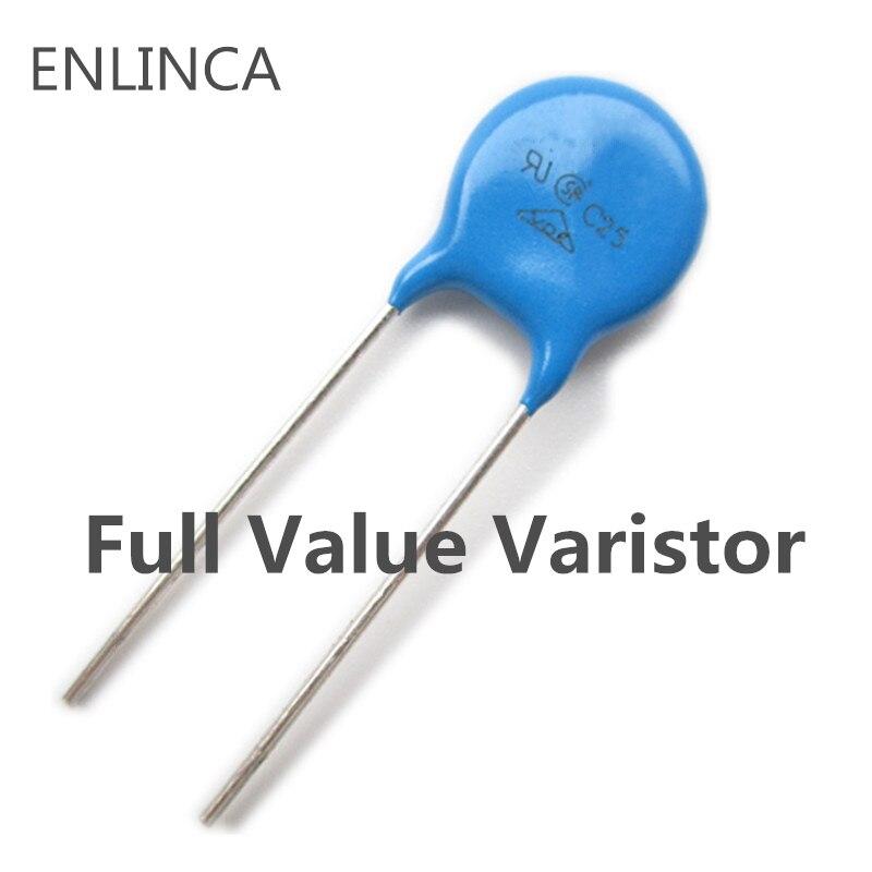 2-20pcs Varistor 10D270K 10D330K 10D390K 10D470K 10D241K 10D391K 10D431K 10D471K 10D561K 5D471K 20D201K 20D391K 20D471K
