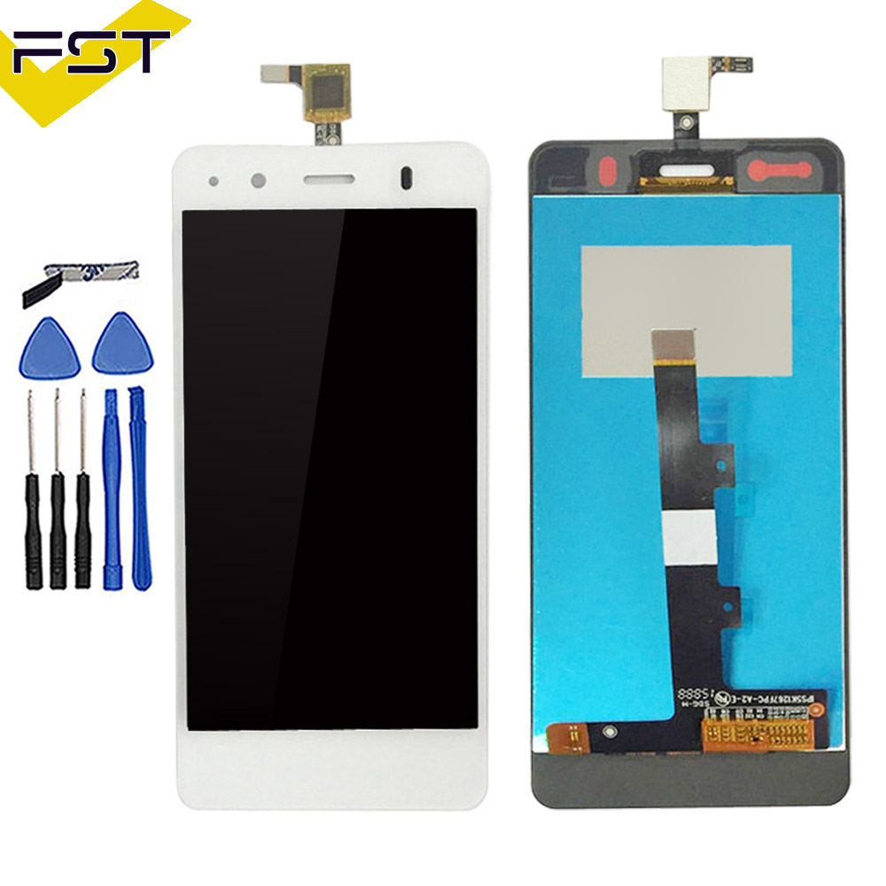 Black/White For BQ Aquaris A4.5 LCD Display+Touch Screen Glass Panel Digitizer Assembly For BQ A4.5 LCD Pantalla Tactil