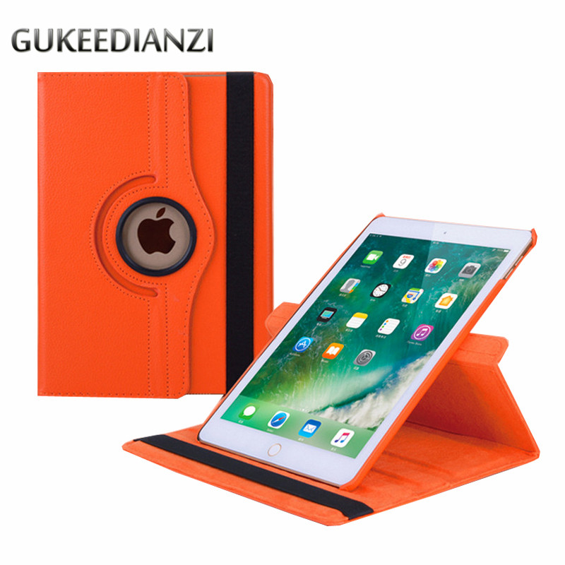 Gukeedianzi Case For Apple New Ipad Pro 12.9 2017 Model A1670 A1671 12.9 Inch Nootbook 360 Rotating Bracket Stand Leather Cover Agreeable Sweetness Computer & Office Tablet Accessories