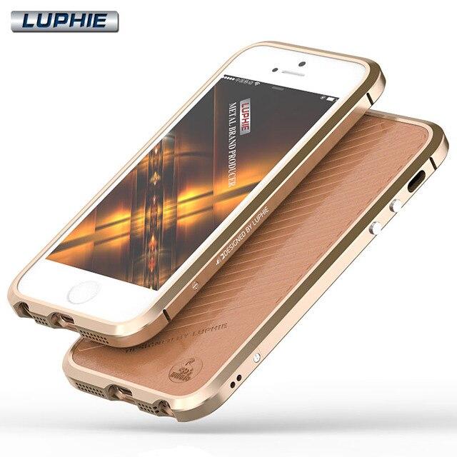 Nouveau Noble De Luxe Pare-chocs Pour iPhone SE Boîtier En Aluminium Pour  Apple iPhone b52abc77de6