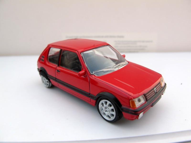 N orev 1:64 PEUGEOT 205 GTI boutique alloy car toys for children ...