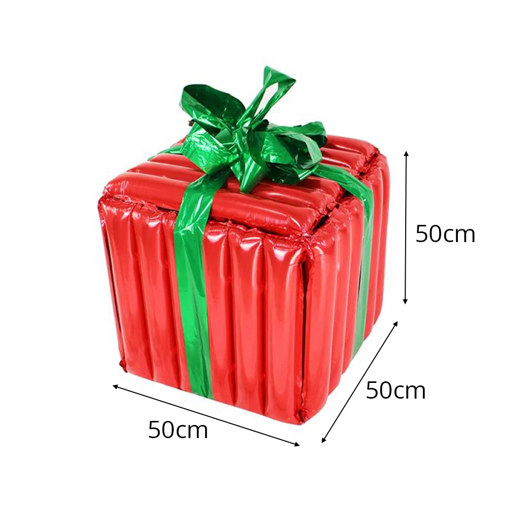 Halloween Christmas Oversized Gift Box Balloon Family Party Decoration  Spree Atmosphere Props Best Gifts Box