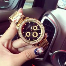 Hot Selling Geneva Gold mens Watch men Dress Watch Military mens steel watch Sports Quartz men Wrist watch reloj hombre
