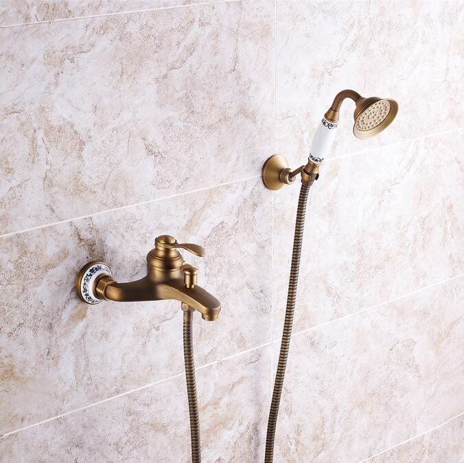 how to replace shower faucet handles