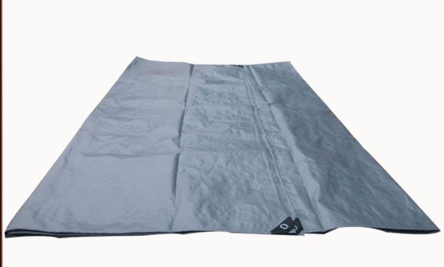 Silver Gray Color 4mX 6m Outdoor Rainproof Tarpaulins, Outdoor Tarps, Truck Tarps, Sun And Rain Cloth.canvas