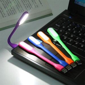 Image 3 - FFFAS маленький гибкий USB светодиодный USB светильник, настольная лампа, гаджеты, usb ручная лампа для внешнего аккумулятора, ПК, ноутбука, Android, телефона, OTG кабель