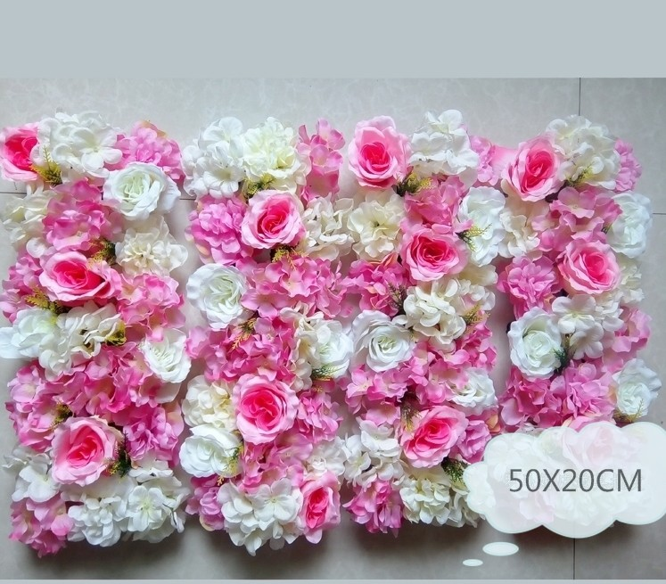 Plastic Round Shape Wedding Bent Rack Flower Row for Flowers Wall Arches