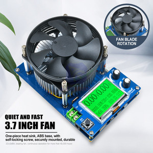 Image 4 - 150W Elettronico Intelligente Capacità di Resistenza di Carico Scarico di Tensione di Alimentazione di Corrente Tester US/EU/AU Adattatore Alligator Clip filo