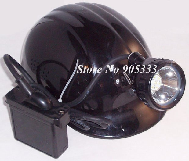 3W Cree LED Safety Miner head Lamp Cap Lamp Headlight for Mining Light Free Shipping