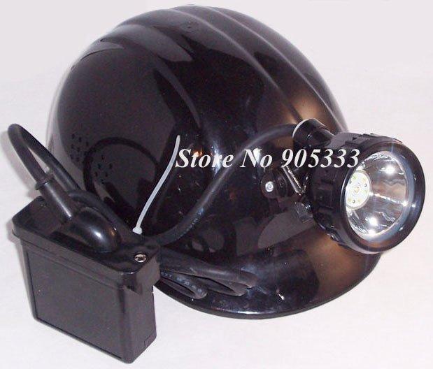 3W Cree LED бяспеку Miner галава цокаль лямпа - Партатыўная асвятленне
