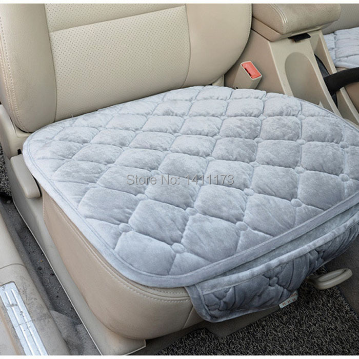 Aliexpress Buy Winter Warm Car Seat Cushion Sets Decorative Covers Supports For 5 Seats Universal Size Honda Fit 3 PCS Set From
