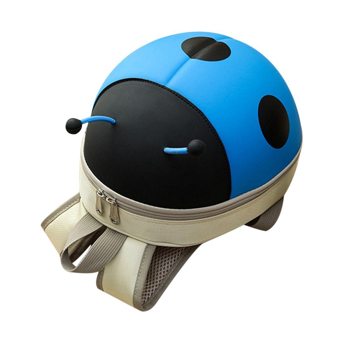 Snny новый детский рюкзак мультфильм жук молния малыша Сумка синий ...
