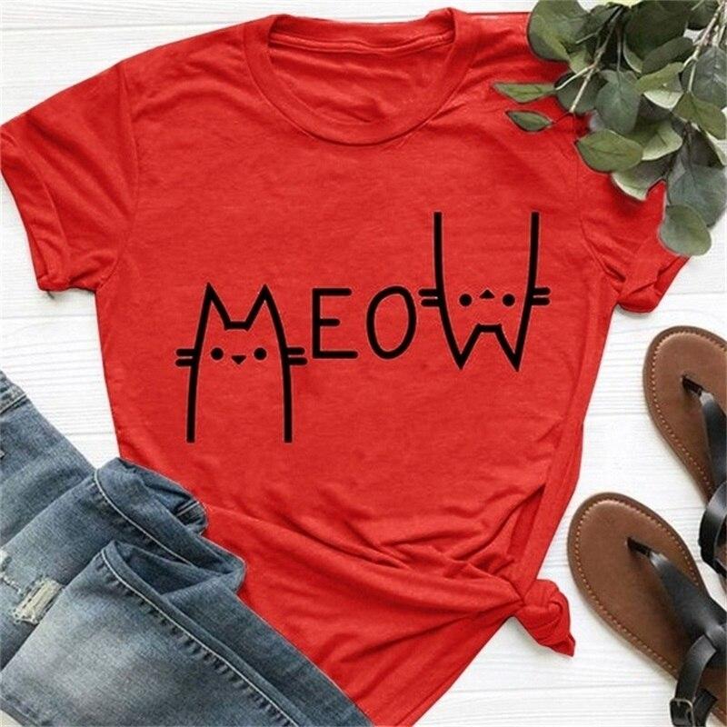 womens cat t shirt