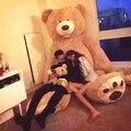"Ccsme enorme grande 260 cm / 102 "" peluche teddy bear cubierta suave felpa muñeca de juguete modelo pillow ( sin material ) baby gift kids"