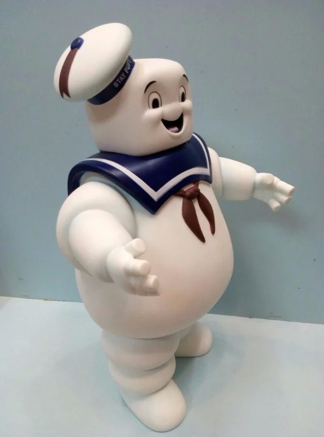 26 cm Vintage Ghostbusters 3 Tetap Puft Marshmallow Man Bank Sailor ... a65741fd23
