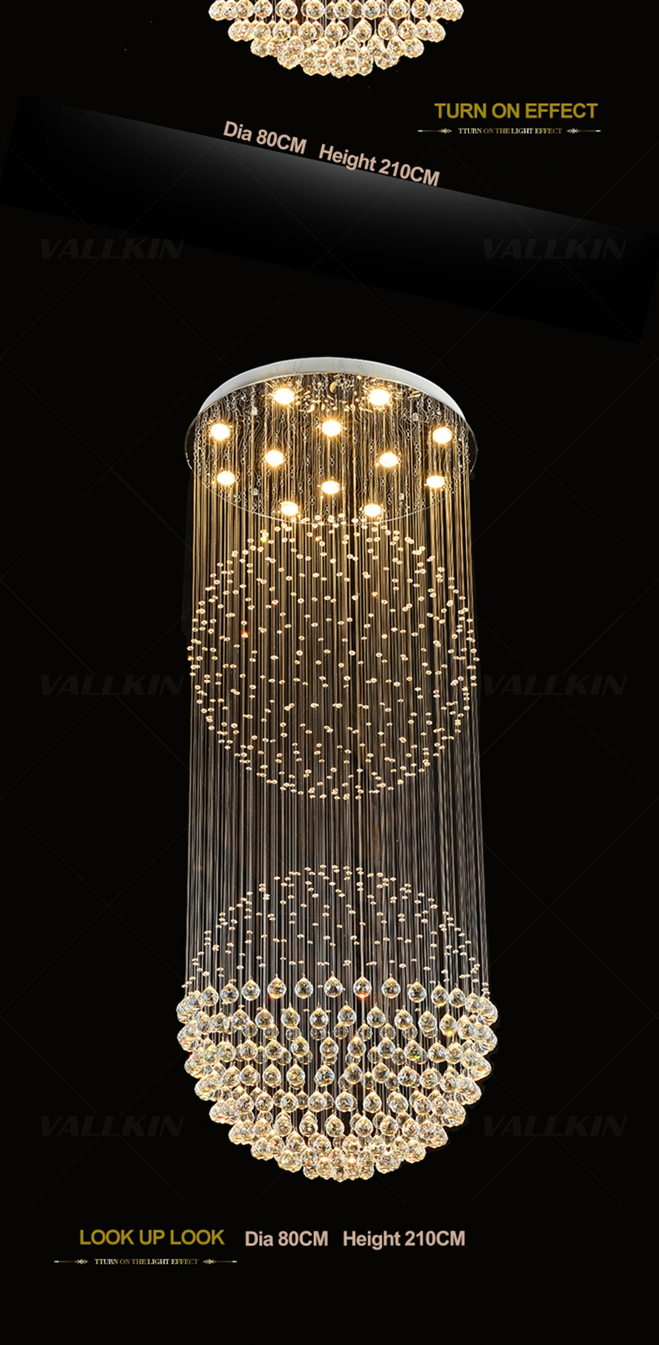 Suspension Chandelier Us 412 85 49 Off Luxury Crystal Chandeliers Pendant Lamps Modern Suspension Chandelier Lamp Lustres De Cristal For Hote Hallway Stairs Decoration In