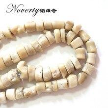 8abe36d63b9c Nueva moda de 11 12mm 10 unids bolsa blanco Natural Irregular Rama de Coral  grava suelta perlas collar de joyas de bricolaje hac.