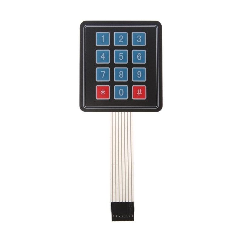 4x3 Matrix Array 12 Key Membrane Switch Keyboard keypad For Arduino AVR New