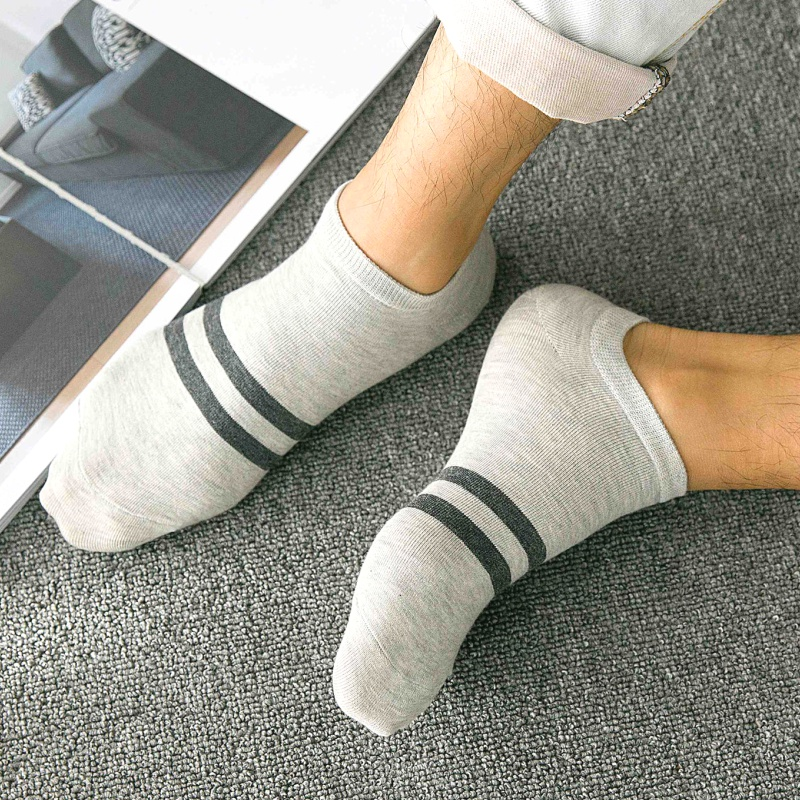 Socks men socks cotton A13 shallow mouth boat socks men's invisible summer sports deodorant