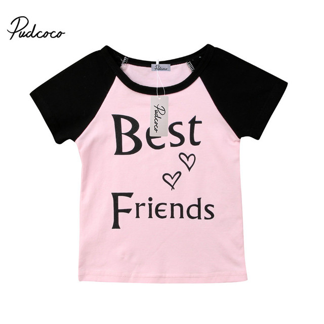 2018 New Fashion Family Matching Outfits Best Friends Family T