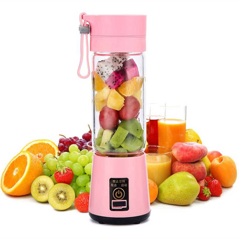 Portable Multipurpose USB Charging Mode Small Juicer Extractor Household Blender Fruits Mixer,Egg Whisk, Juicer 2 pcs lot household juicer mixer accessories mixer rotation turn left