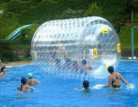 Free Shipping 2.4x2.2m Inflatable Hamster Ball Inflatable Water Ball Price Water Roller Inflatable Zorb Ball Free a Pump