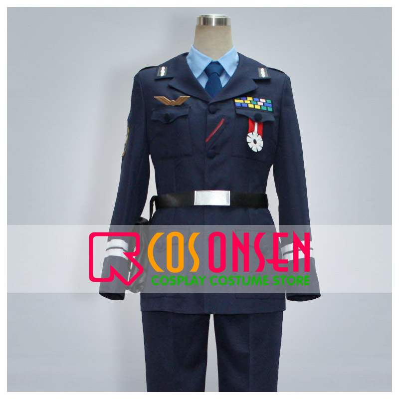 COSPLAYONSEN Allison & Lillia Arison to Riria Carr Benedict Military Uniform Cosplay Costume All Size