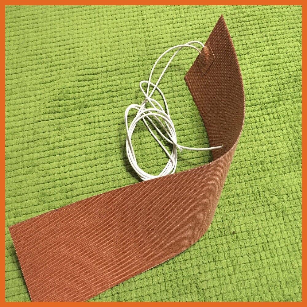 230 V 1000 W 500*550mm Silicone coussin chauffant pour imprimante 3d lit chauffant flexible chauffage silicone coussin chauffant